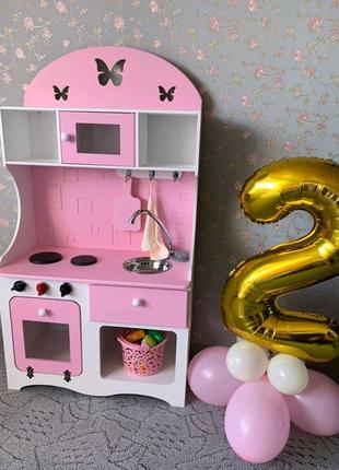 Кухня детская, игровая кухня, кухня для девочки
