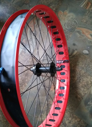 Колесо на велосипед Фетбайк 26 дюймов