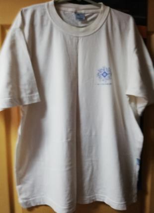 """""""Белая футболка exotica хлопчатка xxl"""""""