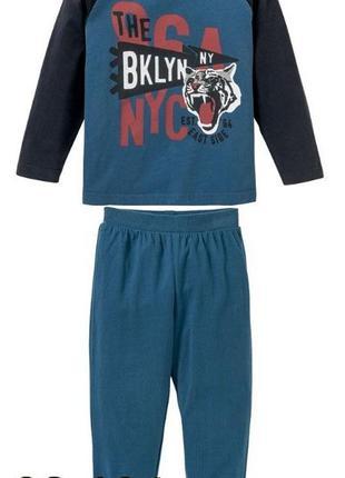 В наличии.пижама, костюм, 3-4 года, 98-104 (110) см,lupilu