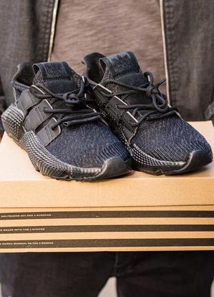 Мужские кроссовки adidas prophere all black