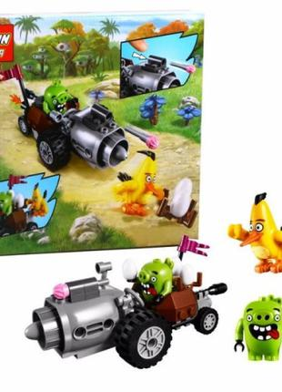 """Конструктор Lepin """"Angry Birds"""" 19001 Побег из машины свинок"""
