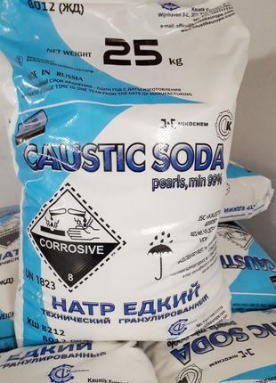 Сода каустическая/натрий едкий  (Россия) гранула