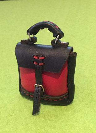 Рюкзак для куклы, брелок.
