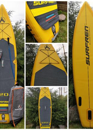 """Двухслойная туринговая SUP Surf 320i 10'6"""" доска"""