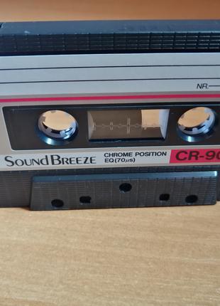 Аудиокассета SNC SoundBreeze CR-90 (Чистая)