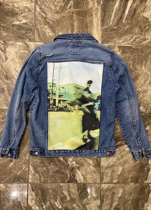 Zara Джинсовка-джинсовая куртка