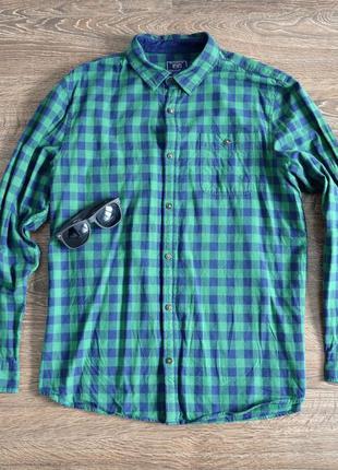 Стильная коттоновая рубашка из свежих коллекций