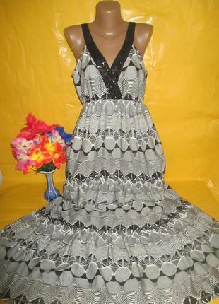Очень красивое женское нарядное платье в пол на пышные формы p...