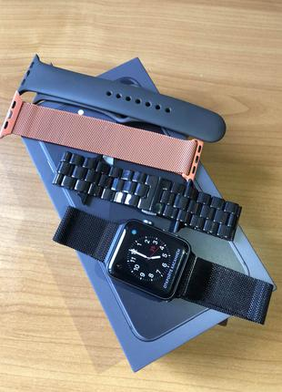 Apple Watch Series 3, 42 mm ALUMINUM CASE