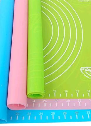 Силиконовый коврик для теста. 45×65 см