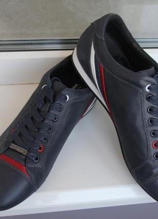 Мужские кроссовки осень-весна. кожа. съемная стелька. размеры:...
