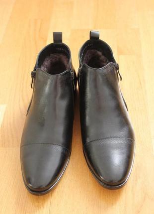 Классические зимние ботинки. польша - фирма норд. размеры:40,4...