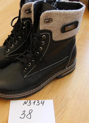 Ботинки зима размер 38