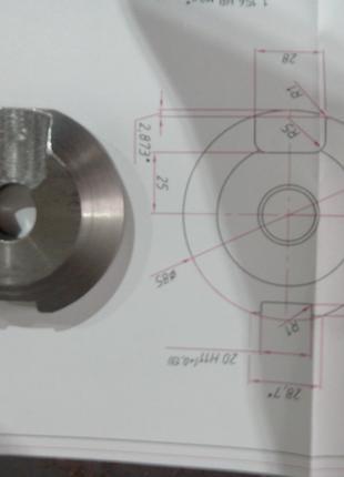 Изготовление различного вида оборудования, изготовление деталей.