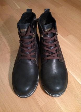 Ботинки зима. кожа размеры: 41, 45