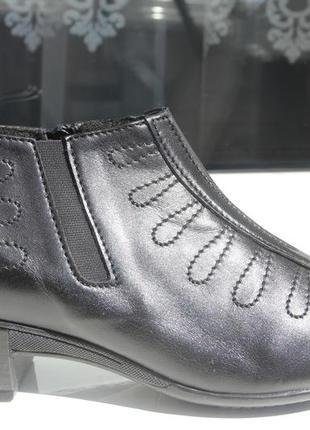 Ботинки осень женские. кожа. размеры:37,39,41
