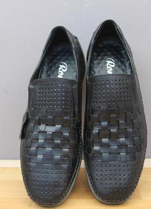 Летние туфли эко кожа размеры:40, 41,42,44,45