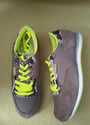 Замшевые кроссовки roxy кросівки замшеві натуральні