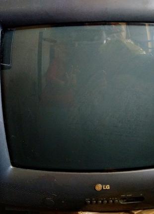 Телевизор LG CK-20F80 на запчасти/ ремонт/ нерабочий