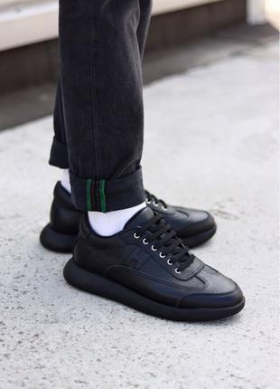 Hermès Shoes Black