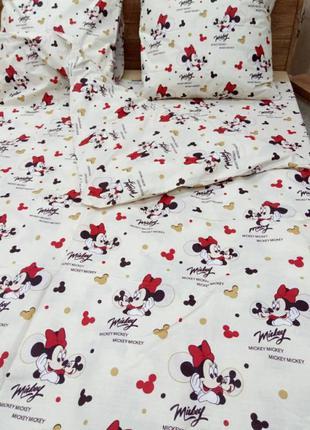 Детское постельное белье, мики маус