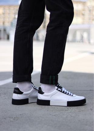 Dolce & Gabbana Miami Sneakers White Black