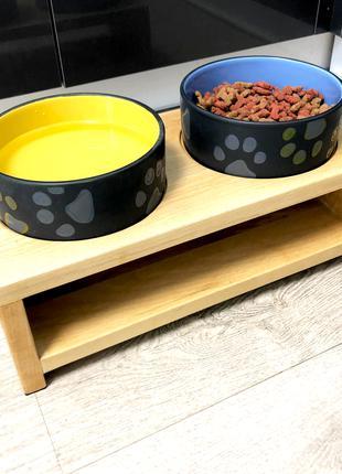 """Керамічні миски для собак """"Томас"""""""