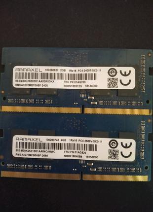 4gb 2gb Ramaxel DDR4 So-Dimm 2400