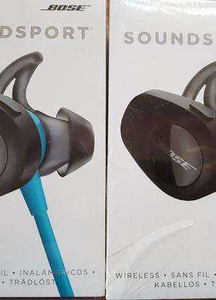 Новые Наушники Bose SoundSport Black оригинал