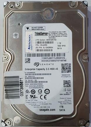 "Жесткий диск Lenovo ThinkServer 1TB 7200rpm 4XB0G88760 3.5"" Ente"