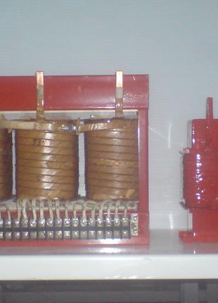 Сварочные трансформаторы и дроссели. Ремонт и изготовление.