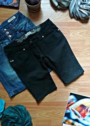 Женские летние джинсовые шорты clockhouse - размер 44