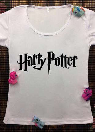Женские футболки с принтом - гарри потер