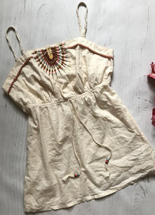 Лёгкая блузочка из натуральной ткани(2xl)