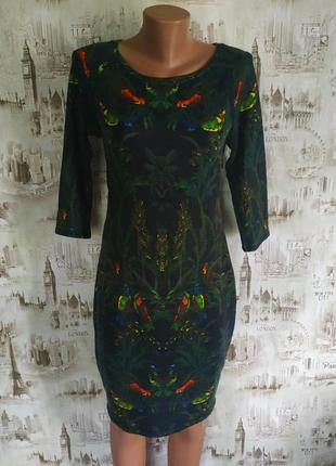 . интересное,нарядное платье. на бирке- l р-р(12-14)