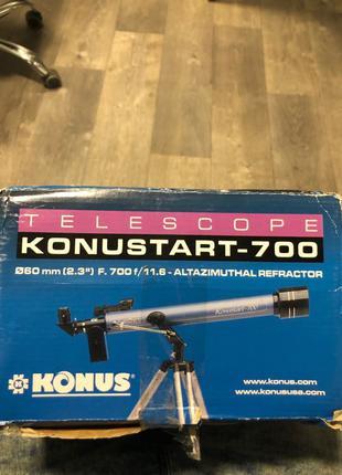 Продаю телескоп KONUSTART - 700