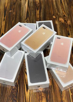 IPhone 7+ Plus 32gb Black/Silver/Gold/Rose Gold/ NEVERLOCK/ НОВЫЙ