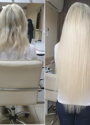Наращивание коррекция волос Харьков