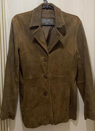 100% кожа!!! кожаный пиджак, куртка, размер с-м