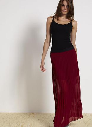 Новая юбка плиссе terranova