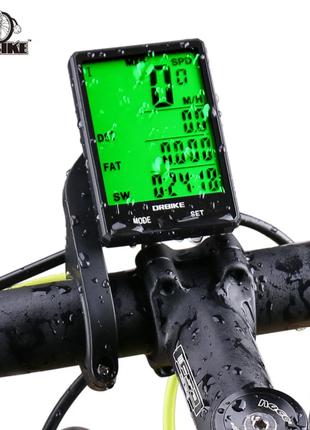 """Беспроводной велокомпьютер 2,8"""" экран, автовключение"""