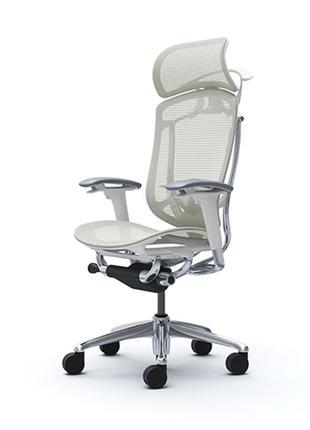 Кресла OKAMURA CONTESSA II Sekonda Белый каркас, Whine-белый