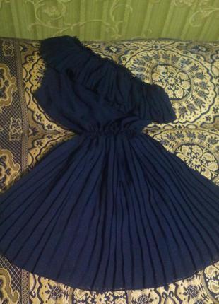 Легкое шифоновое платьице