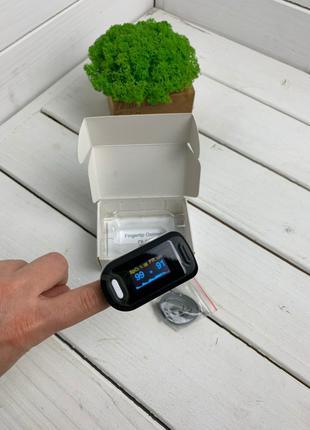Пульсовий оксиметр SUNROZ LED пульсометр, пульсоксиметр на палец