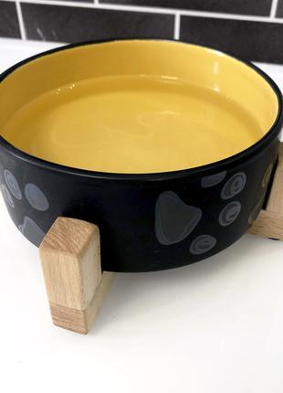 """Керамическая миска для кошек и собак """"Энди"""""""