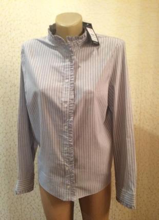 Распродажа! базовая рубашка в полоску от new look