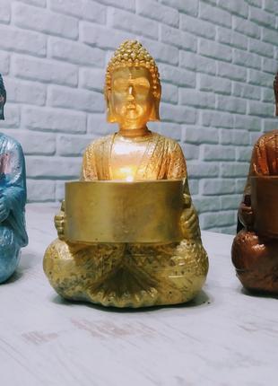 Подсвечник Будда