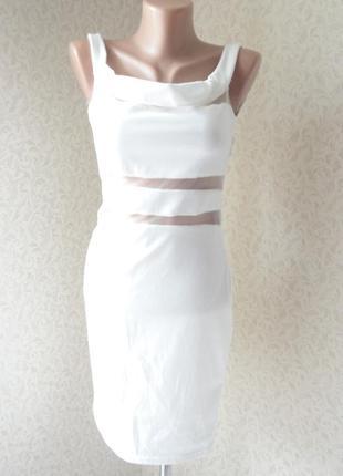 Белое платье р.s-m