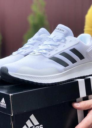 Мужские кроссовки adidas 41-46 весна лето осень белые